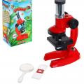 Игрушка обучающая Микроскоп с лупой
