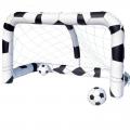 Футбольный набор Bestway 1693589 (надувные ворота + 2 мяча) 213х122х137см, от 3+