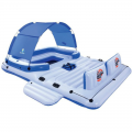 Беседка-плот для отдыха на воде Bestway 43105, для 6 человек 389х274 см SL
