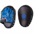 Лапы боксерские гнутые АС Е077 (иск. кожа)