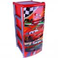 Комод для игрушек Дисней на колёсиках 48 см х 38 см х 98,5 см
