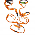 Эспандер - многофункциональный тренажер ONLITOP Петли регулируемый карабином 36-14