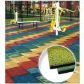 Резиновая плитка Tile and Roll 500х500 мм 30 мм, ровное основание