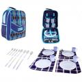 Рюкзак-холодильник с набором для пикника Onlitop Premium 11, на 4 персоны
