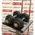 Стойка АТЛАНТ АТ-200 для гантелей, грифов, дисков, гирь