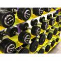 Гантельный ряд PROFI-FIT Professional 27,5 кг - 50 кг (10 пар), шаг 2,5 кг