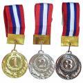 Медаль 6 см СХ F1174 (с лентой)