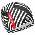 Шапочка для плавания ONLITOP Чёрно-белая, полиэстер